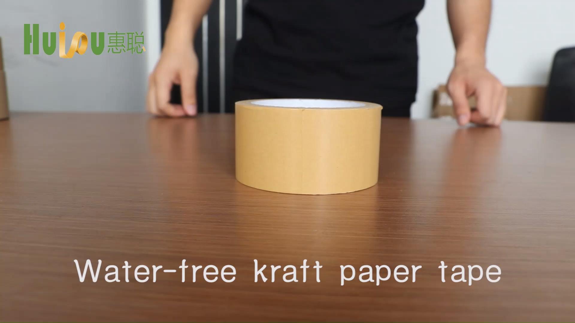 Marco de la foto de la engomado adhesivo de goma de uso de cinta de papel Kraft
