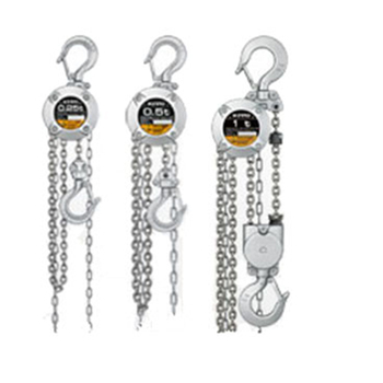 Bulk Sale stainless steel hand chain hoists 3 ton half For Construction works