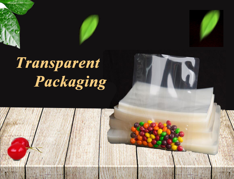 Biodegradable Soft Ziolock Thick Nylon Heat Seal Transparent Plastic Packaging Bag