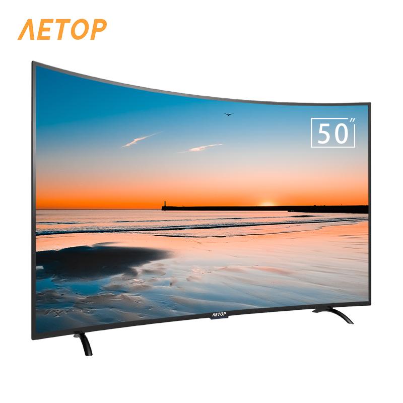 중국 제조 1.5 + 8G tv 4k HD 안드로이드 tv 곡선 tv 스마트 와이파이