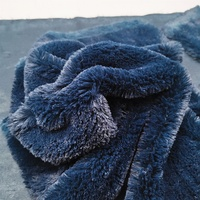 luxury washable faux fur fabric for jacket and coat