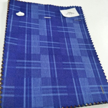 Factory price stock Polyester Rayon blend tr fabric for Men's Suit Fabric