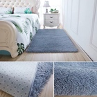 100% polyester material living room comfortable shaggy pile rugs shag carpet