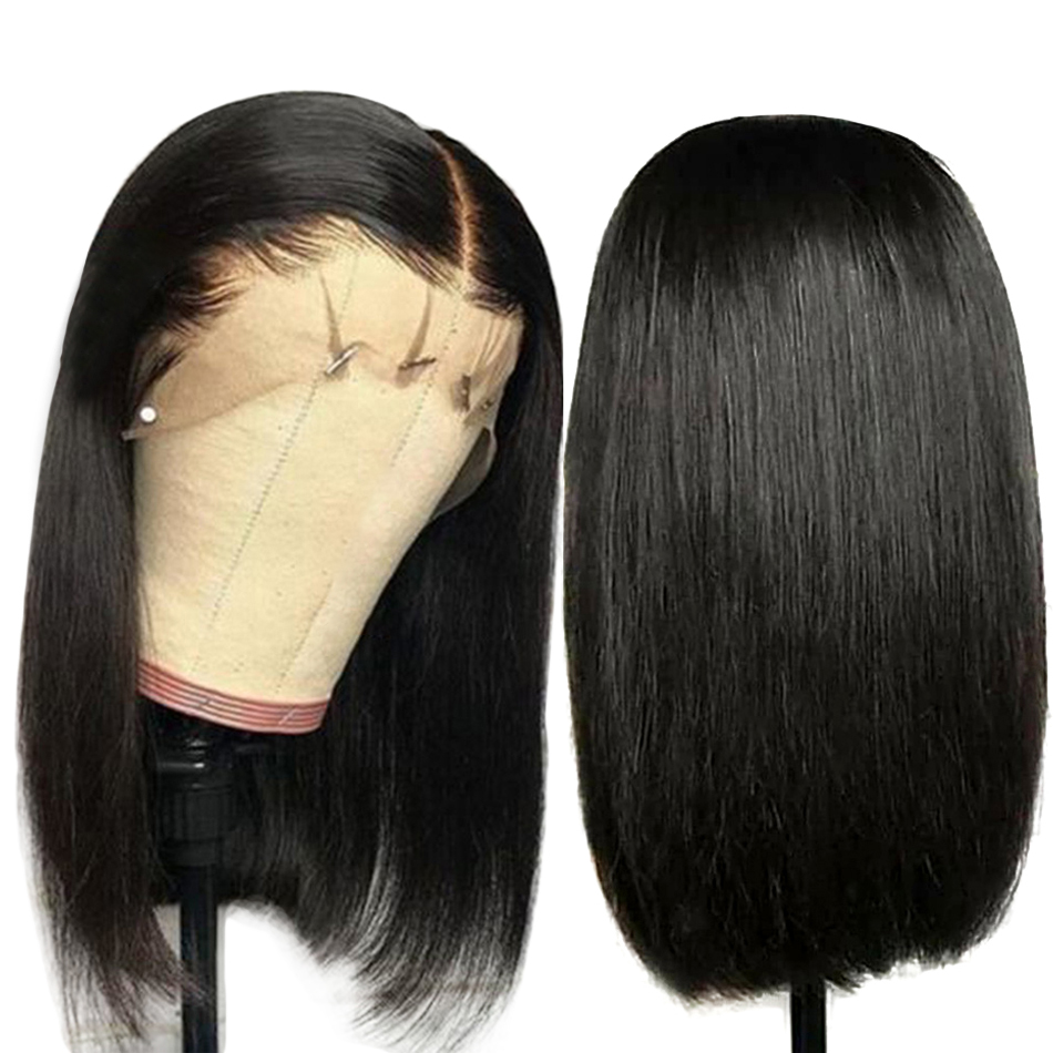 Vast Full Human Hair Wigs 10-24 Inches 13x4/13x6 Brazilian Short BoB HD Lace Wig Straight Remy Wigs for Black Women