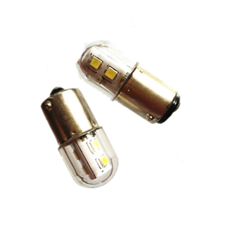12V 24V 110V 220V B15 Bayonet single/ double contact Mini LED Bulb warning indicator light of instrument and equipment