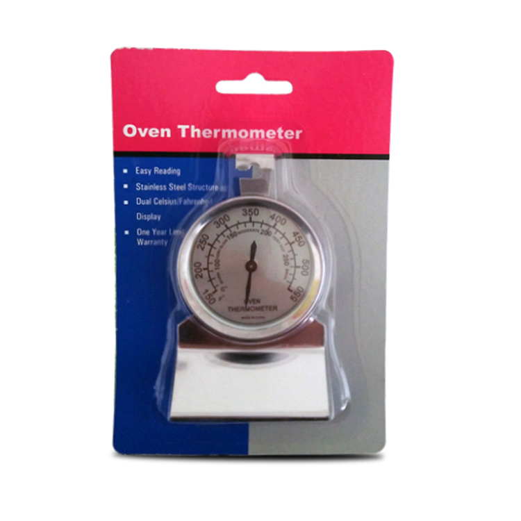 Oven Grill Analog Dial Thermometer For Wood Burning Stoves Gas Stoves