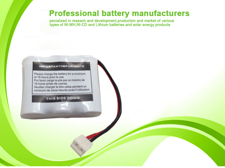 Geilienergy BT17333 nicd 3.6v rechargeable battery pack 400mah Cordless Phone Battery Pack