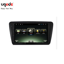 "10.2 ""tablet android carro multimídia para skoda octavia com 1024*600 tela dvr obd wifi"