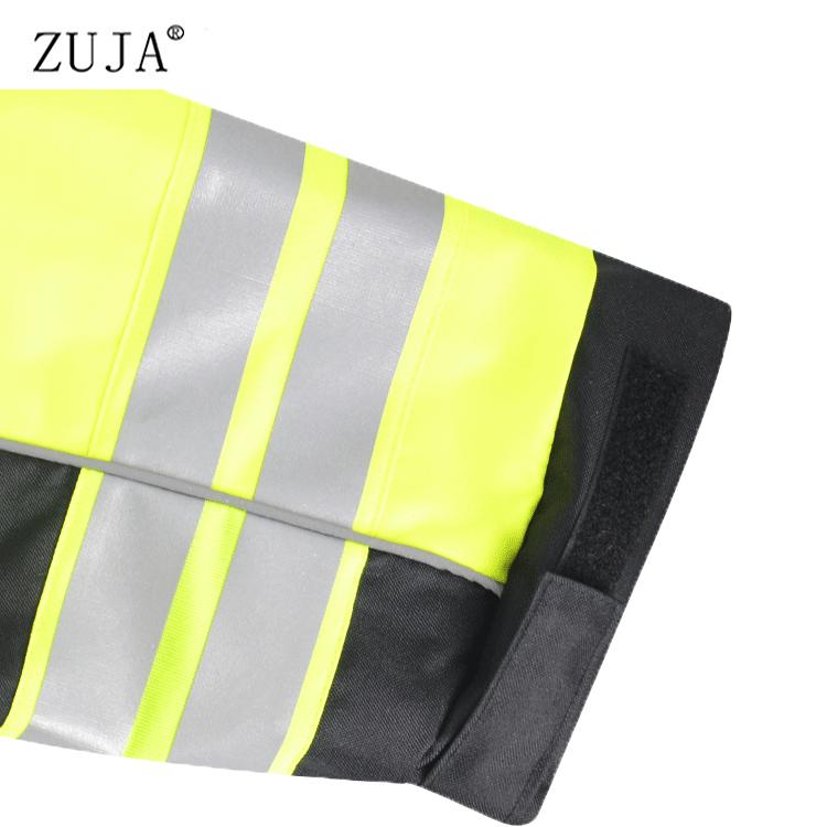 ZUJA водонепроницаемый капюшон Высокая светоотражающая лента ветровка куртка безопасности