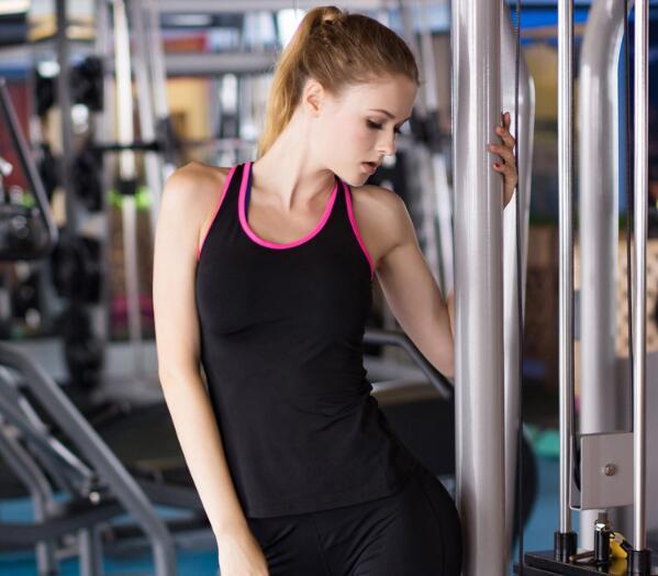 Sexy Ladies Women Racerback Gym Yoga Workout Vest Tank Top 3