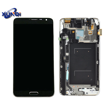 For samsung note 3 neo lcds display For samsung galaxy note 3 neo mini n7502 lcd screen with frame
