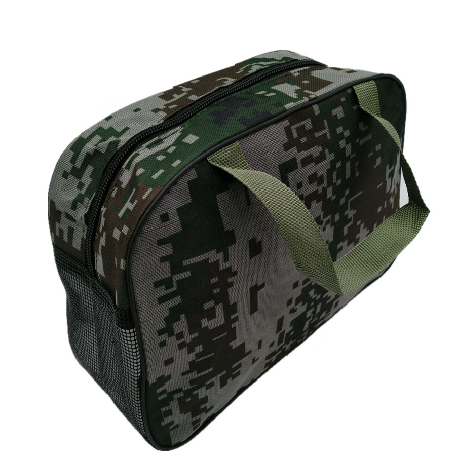 Multifunction Personalized Wholesale Sports Durable Zipper Camo Travel Duffle Bag