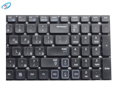 جديد الروسية كمبيوتر محمول استبدال لوحة مفاتيح سامسونج RV511 RC510 RC520 RV520 RV515 E3511 RC512 E3511 RU تخطيط أسود