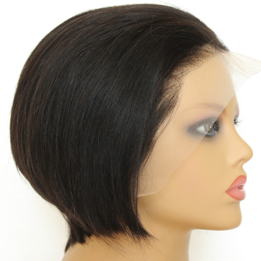 <strong>Cheap</strong> Bob Cut <strong>Human</strong> <strong>Lace</strong> <strong>Front</strong> <strong>Wigs</strong> Pre Plucked Peruvian Straight Black <strong>Hair</strong> Blunt Bob Short <strong>Human</strong> <strong>Hair</strong> <strong>Lace</strong> <strong>Wig</strong> Free Shipping