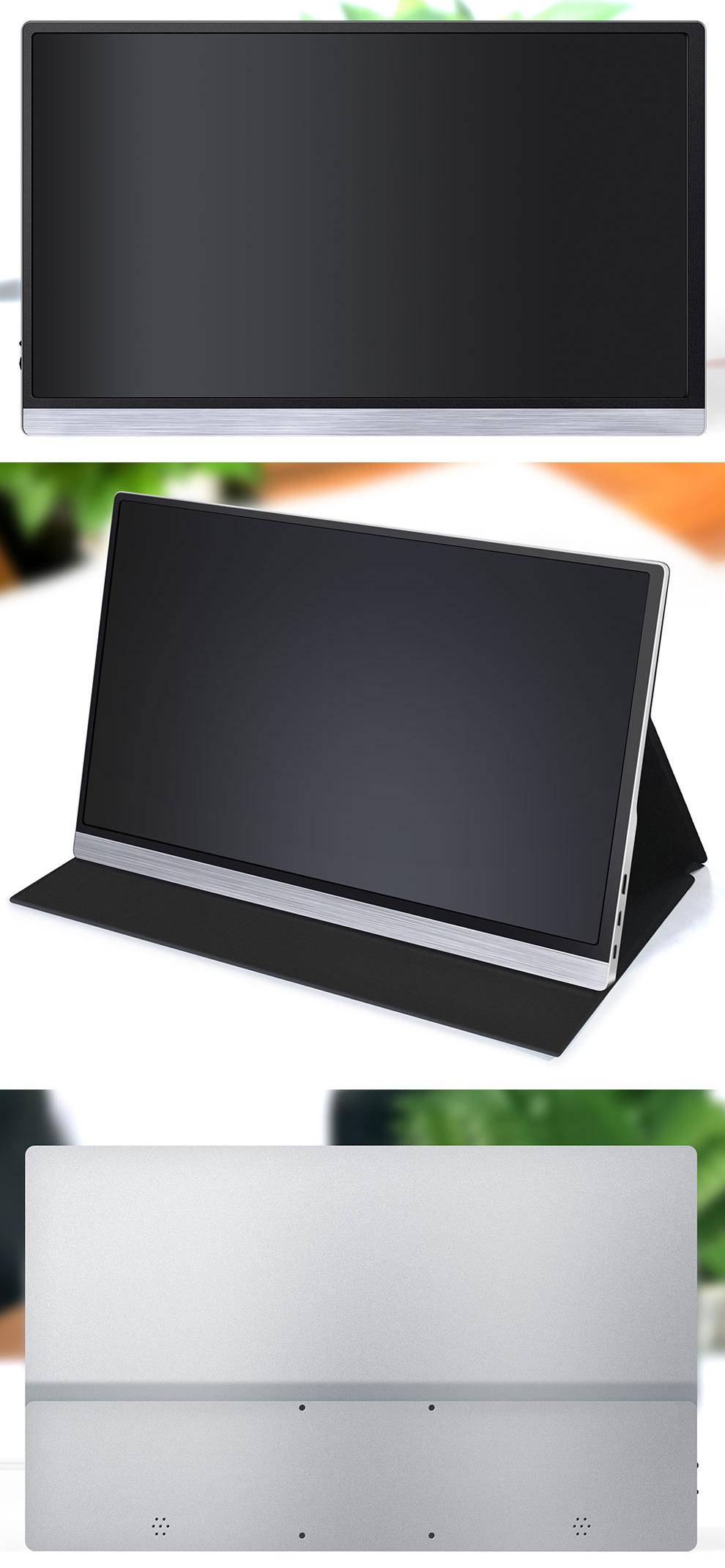 شاشة لمس FHD1080p خارجية 2k محمولة, شاشة ألعاب لمسية للهاتف مع مفتاح الكمبيوتر المحمول PS4 xbox