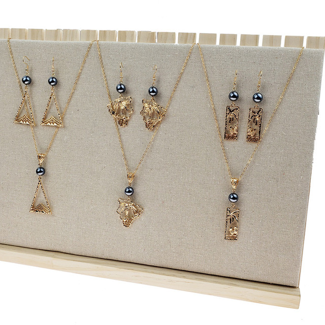 Manufacture ladies jewellery Fashion jewellery sets Wholesale 14k gold plated jewelry set