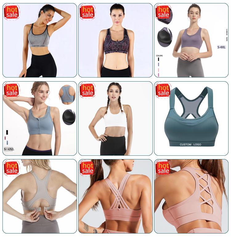 Soutien-gorge en maille pour femme, jolie sangle avec coussinets intégrés, accessoire de sport pour exercices, Yoga, liquidation de top, offre spéciale
