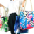 Trendy Unisex Water Proof Resistant Woven Straw Waterproof Beach Bag Rope Handles