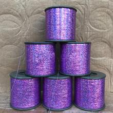 Draad Bling Decoratie Glinsterende Meisjes Party <span class=keywords><strong>Glitter</strong></span> Rainbow Sparkle Haar Klatergoud Holograpic Strengen Roll Haarverlenging