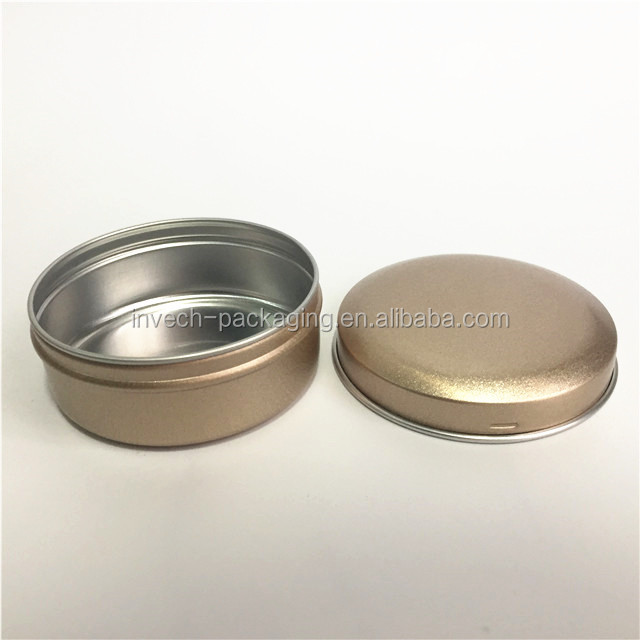 82x38mm 150ml aluminum screw tin for food packaging