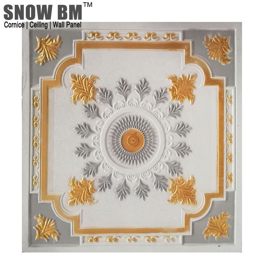 SNOW BM Hihg quality GRG glass fiber reinforced gypsum ceiling from China with COC certificate