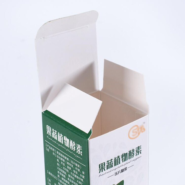 Top quality custom design paper pill box medicine cardboard box