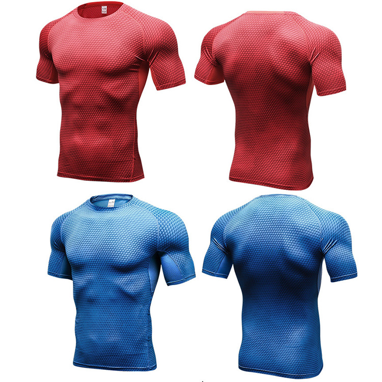 latest Sports Tee Shirts Tri Blend Dry Fit Running T Shirt Men