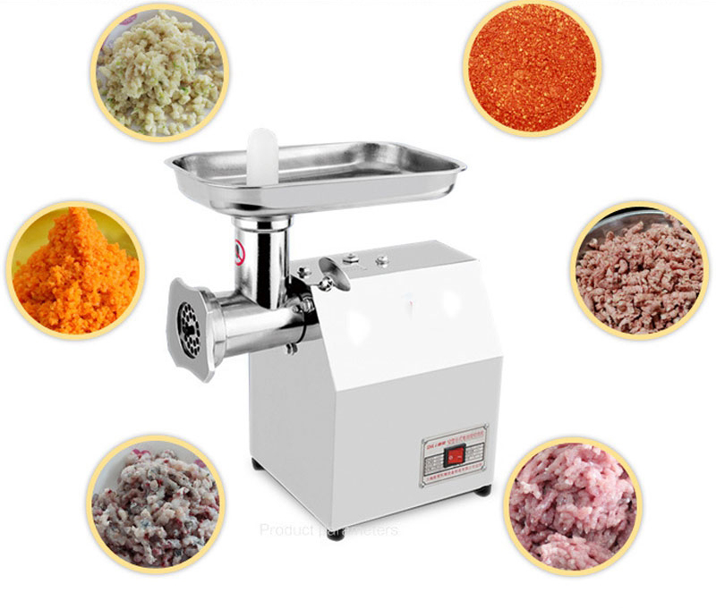 Home Sausage 304 Stainless Steel Meat Cutting Machine Electric Meat Grinder Grinding Mincer Machine