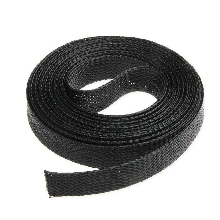 <strong>3</strong>/4 inch 20mm PET Cable Braided Wiring Sleeve,Wire Sheathing