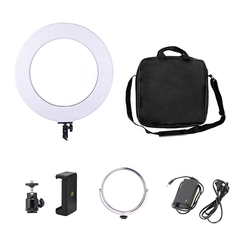 Kernel dslr camera video led ring light wedding photography lighting equipment 220v photo video studio light