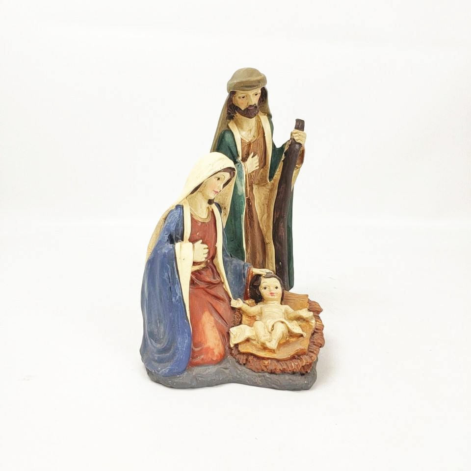 Hot Sale Personalized Handmade Resin Nativity Set
