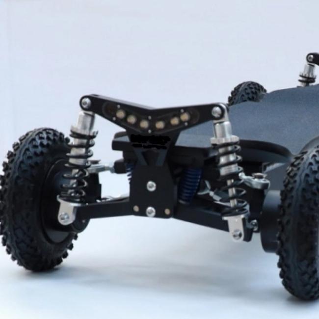 2020 new hot all-terrain e-boards off road intelligent longboard Four-wheel electric skateboard board