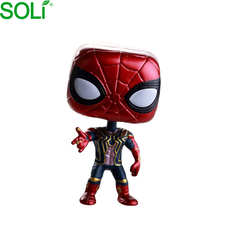 Anime Action Figure Bambole Spiderman Da Collezione #287