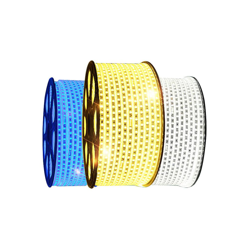 Professional manufacture led strip lights Waterproof dual color 8mm width 2835  led light strip
