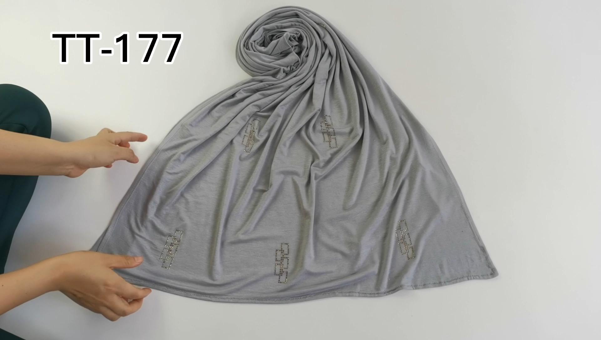 newest design high quality fashion palostani  Muslim women hijab cotton scarf