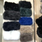 Girls Winter Warm Real Rabbit Fur Neck Scarf Fur headbands For Women