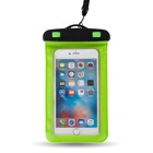 Dongguan pvc waterproof phone bag floating cell phone case with neck strap
