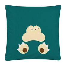 Мягкий короткий плюшевый чехол для подушки Pokemon Pikachu с простым рисунком лица, чехол для подушки для дома, дивана, автомобиля, наволочка 45X45cm(Китай)