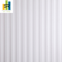 SR Pvc Plastic Embossed Board Wall Panel 3D Pattern