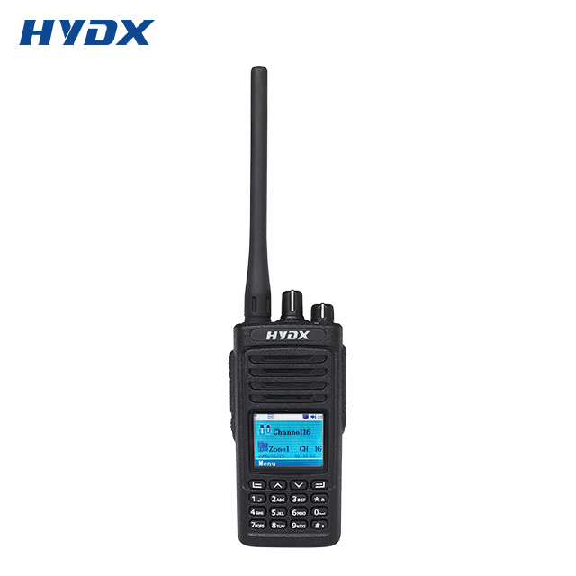 UHF 400-470MHz HYDX D50 דיגיטלי משטרת סורק כף יד רדיו משדר