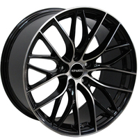 18 19 inch custom car universal aluminum wheel rims with PCD 5*120 factory price for bmw rims 19 black wheels
