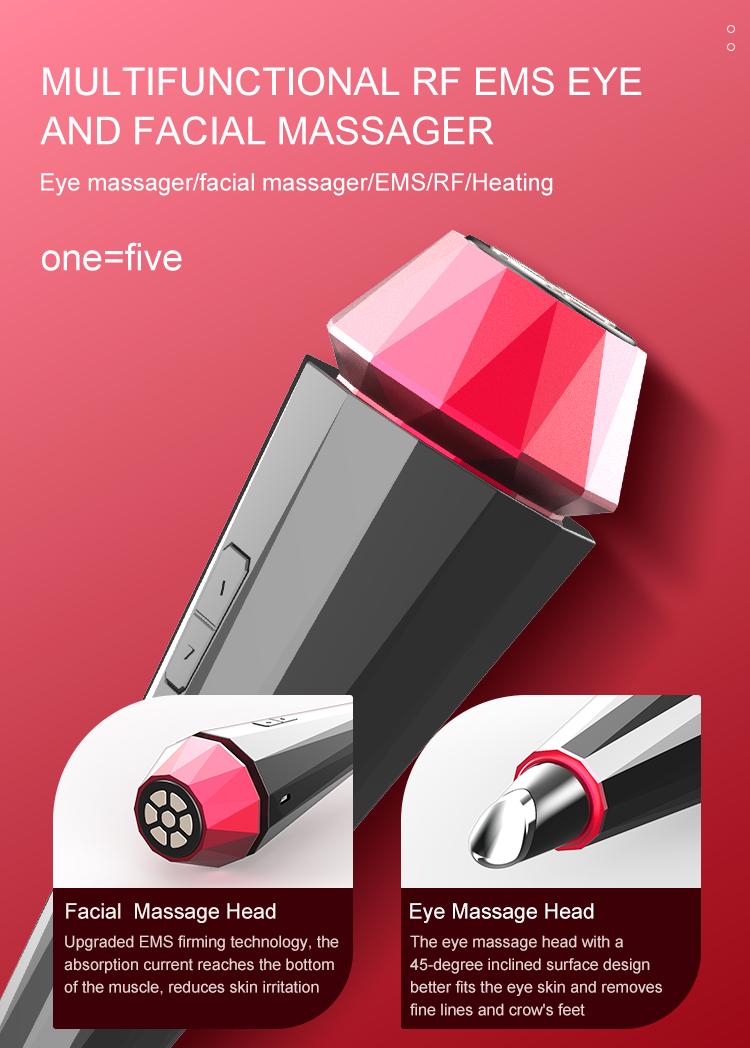 Facial Massager Ems Facial Massager RF EMS Anti Aging Skin Care Beauty Machine