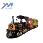 Outdoor Kids Game Amusement Rides Electric Trackless Train