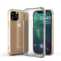 Ultimate Shockproof Rugged Corner Transparent TPU Mobile Phone Case For iPhone 11 Pro 2019 Cover