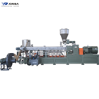 Custom size twin screw extruder for sheets