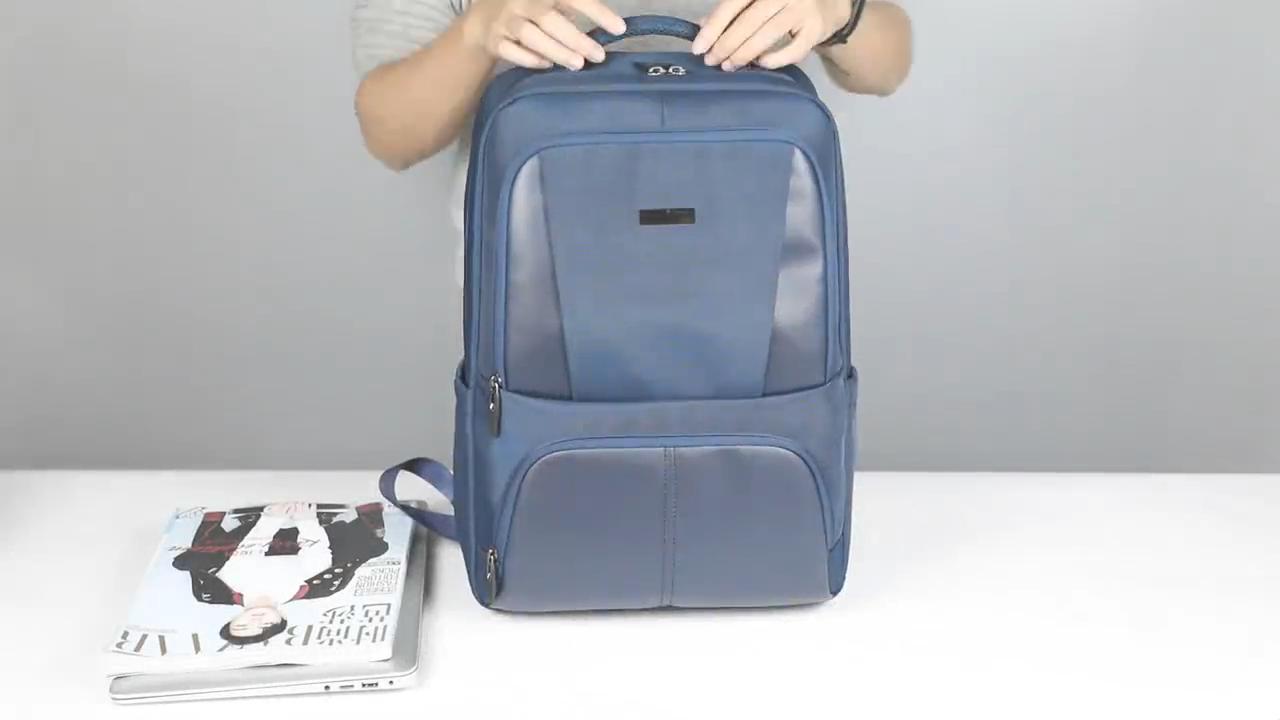 Aoking wholesale low moq laptop bags bagpack back pack Multifunctional Storage men business backpack bag