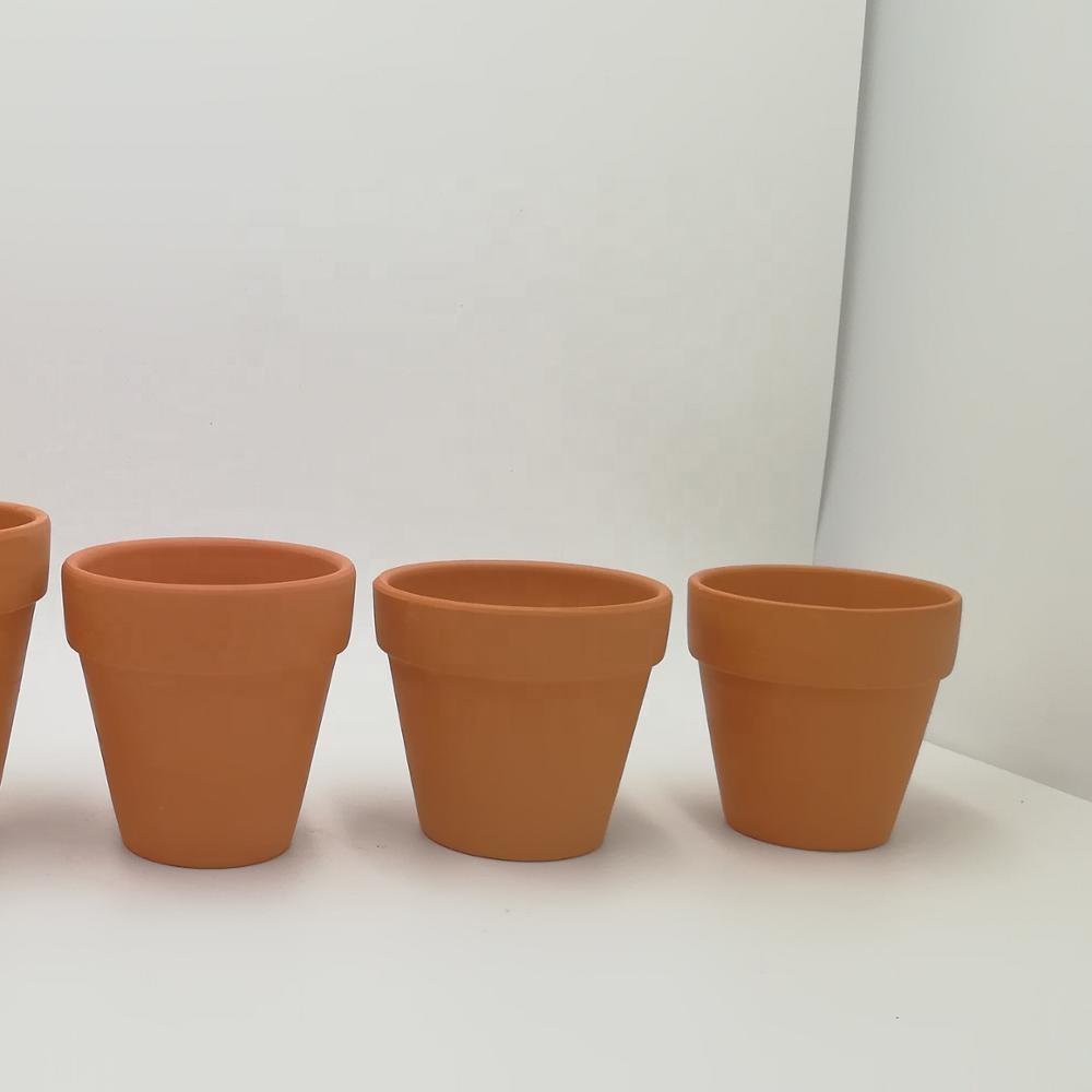 mini terracotta pot with saucers succulent plant pot terracotta flower pot for plants