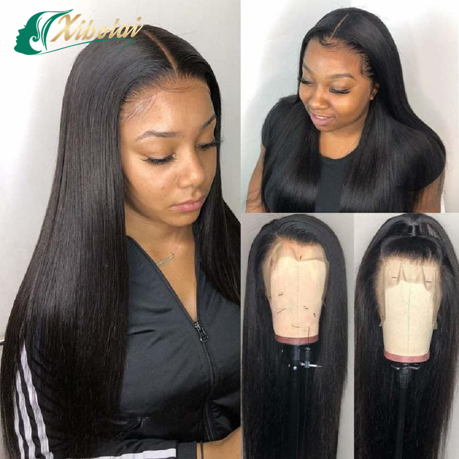 JcXBL hair factory drop shipping virgin 8-50 inch indian 100 virgin human hair lace wigs,Unprocessed full bottom closure wigs