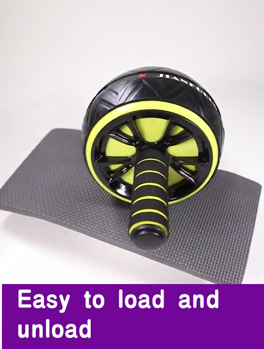 סיטונאי ייצור תרגיל בטן גלגל כפול גלגל Ab גלגל רולר