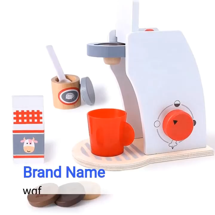 custom juguetes kids bread maker wooden kitchen toy set wooden toy